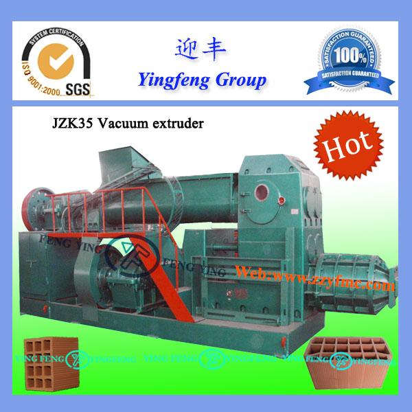 La norma iso 9001 jzk35 ladrillos de arcilla que hace la máquina/automática de ladrillo de arcilla que hace la máquina