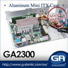 Aluminum Fanless Mini ITX Case GA2300