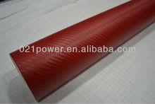Air free bubbles 1.52x30m Waterproof PVC Car Wrap Adhesive Carbon