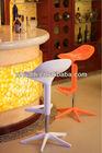 Modern plastic bar Stool/ spoon bar stool/ gas lift stool