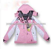 Girls Outdoor Ski Hoody Wind-proof Jacket