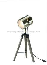 searching light tube modern table lamp
