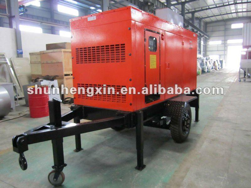Cummins trailer mounted diesel generator set view diesel generator