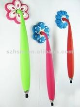 2012 new fashion design decorative fridge magnet pen