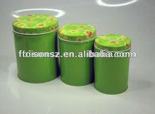 food grade round tin packaging box
