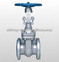 BS cast steel manual full welded gate valve(gate valve,wedge gate valve,sluice valve)