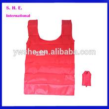 2014 New Designed Polyester Bag / 100% Printed Foldable Hand Bag / Customized Folding Shopping Bag
