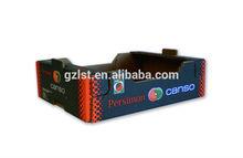 Super big size heavy load fruit corrugated box/ pallet