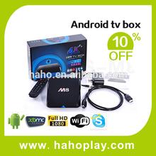 100% Original M8 Android 4.4 Android Tv Box Ip Box Internet Tv Set Top box