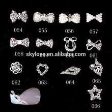 Hot sale 3d nail art decoration bow tie