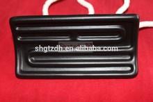 Black 120x60mm far infrared ceramic heater