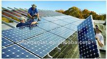 Mono solar panel 300w with TUV,CEC,IEC, CE