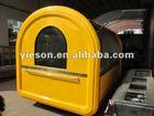 fiberglass caravan factory/Newest Extended Edition Food Kiosk/ice cream vending carts car YS-BF300