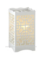 new 2012 wood shade table lamps