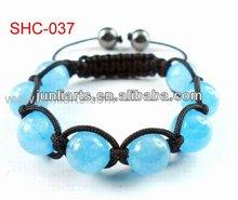 2012 Children' Friendship shambala beads knitted bracelets wholesale