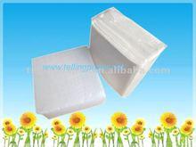 Elegant folded table paper napkin