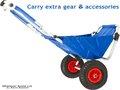 Nuevo estilo de silla para pescar con ruedas. Silla de playa plegable BC-002