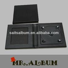 Fashion single CD jewel case with window