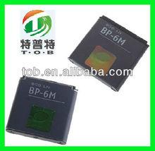mobile phone battery/BP-6M/NOKIA N93 N73 9300i 9300 6280 6233 6151 3250 6288 X6