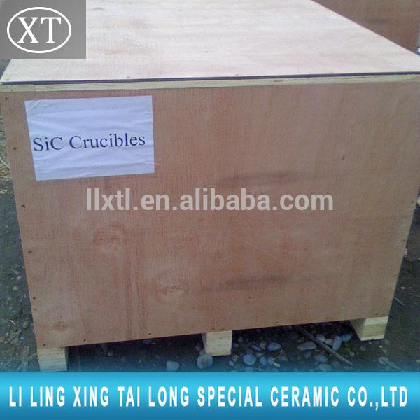 Silicon carbide CONTENT 30-99%! Ceramic Silicon carbide Graphite Crucible