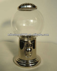Silver-plated Gumball Machine