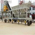 mobile precast concrete batch plant cement batching equipment