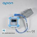 Bluetooth de la muñeca 4.0 oximetría de pulso oxímetro reloj spo2 monitor de pulso de oxígeno del corazón tasa aprobado por la ce