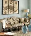 melhor venda de móveis de luxo clássico sofás móveis para sala