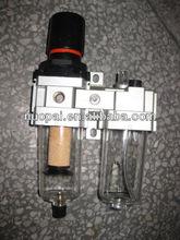 Best NPPC brand.AC air filter regulator lubricator combination. FRL Air treatment unit.