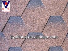 Mosaic Red asphalt shingles