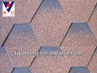 Mosaic bitumen shingles