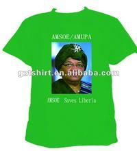 Promotion 100%cotton print t shirt