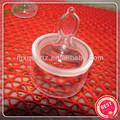 adaptable de alta calidad de cristal de cuarzo de pesaje como la botella de vidrio de laboratorio