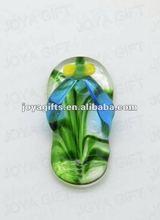 Fashion glass teardrop pendant