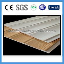 Wave and groove Interlocking PVC wall panel wall panel PVC panel
