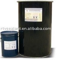 Bicomponent polysulphide sealant