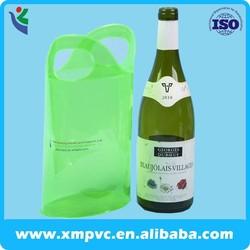 2014 new style plastic pvc wine ice bag XYL-G156
