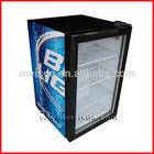 68L Mini Fridges, Upright Display Refrigerator