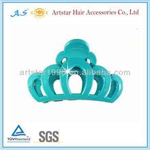 Custom plastic tiara for girls/Artstar hair accessory 9403
