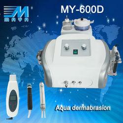 Guangzhou Factory SPA Hydro dermabrasion skin care beauty equipment/ nice dermal dermabrasion machine MY-600D