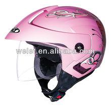 half helmet carbon fiber half helmet daft punk helmet for sale