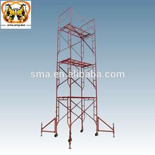 walk thru all-round mobile h frame scaffolding