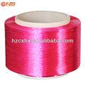vêtement de matières premières est fils de polyester poy