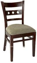 wooden luxury hotel chair