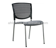 outdoor armless plastic stacking chair