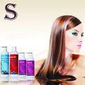 profesional de nuevo y crema de pelo de la queratina del cabello tratamiento elimina el frizz y rizar el cabello