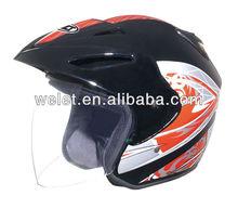 Open face helmet bicycle bluetooth helmet red dirt bike helmets