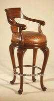 English reproduction bar stool