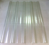 High strength FRP corrugated sunlight sheet/transparent roof sheet/clear plastic roof sheet