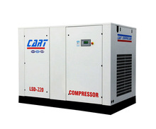 low electric consumption 160KW 220HP screw air compressor
